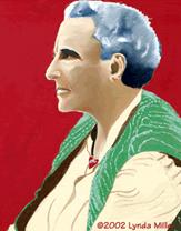 Gertrude Stein as Gertrude Stein